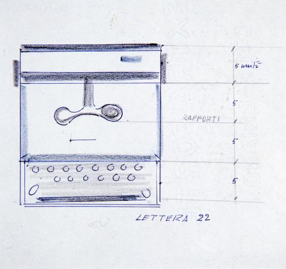 Tastiera incorporata nella carrozzeria