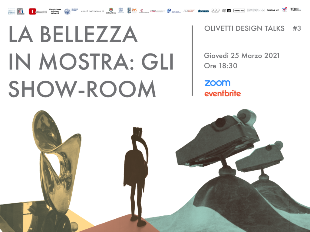 La bellezza in mostra: gli showroom Olivetti