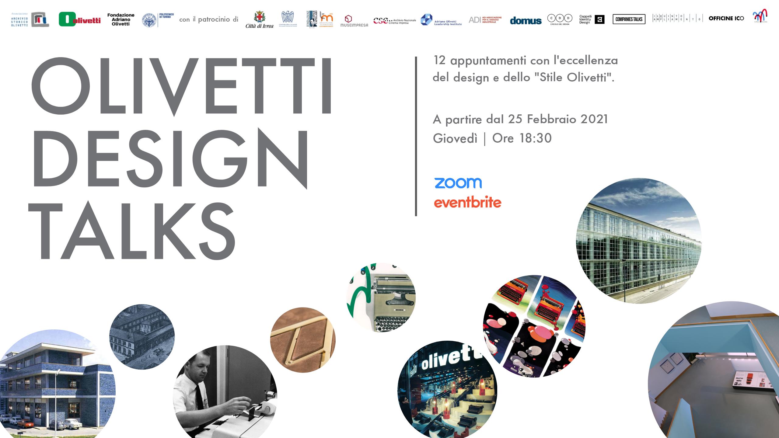Gli Olivetti Design Talks disponibili su YouTube!