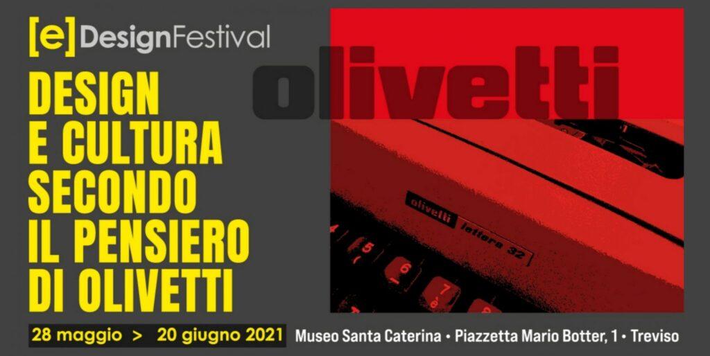 EDesign Festival con Cappelli Identity Design e il mondo Olivetti