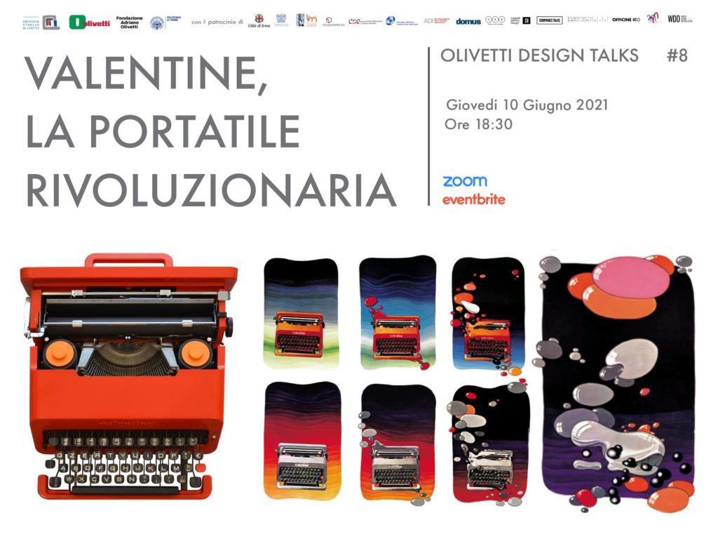 Valentine all'Olivetti Design Talks