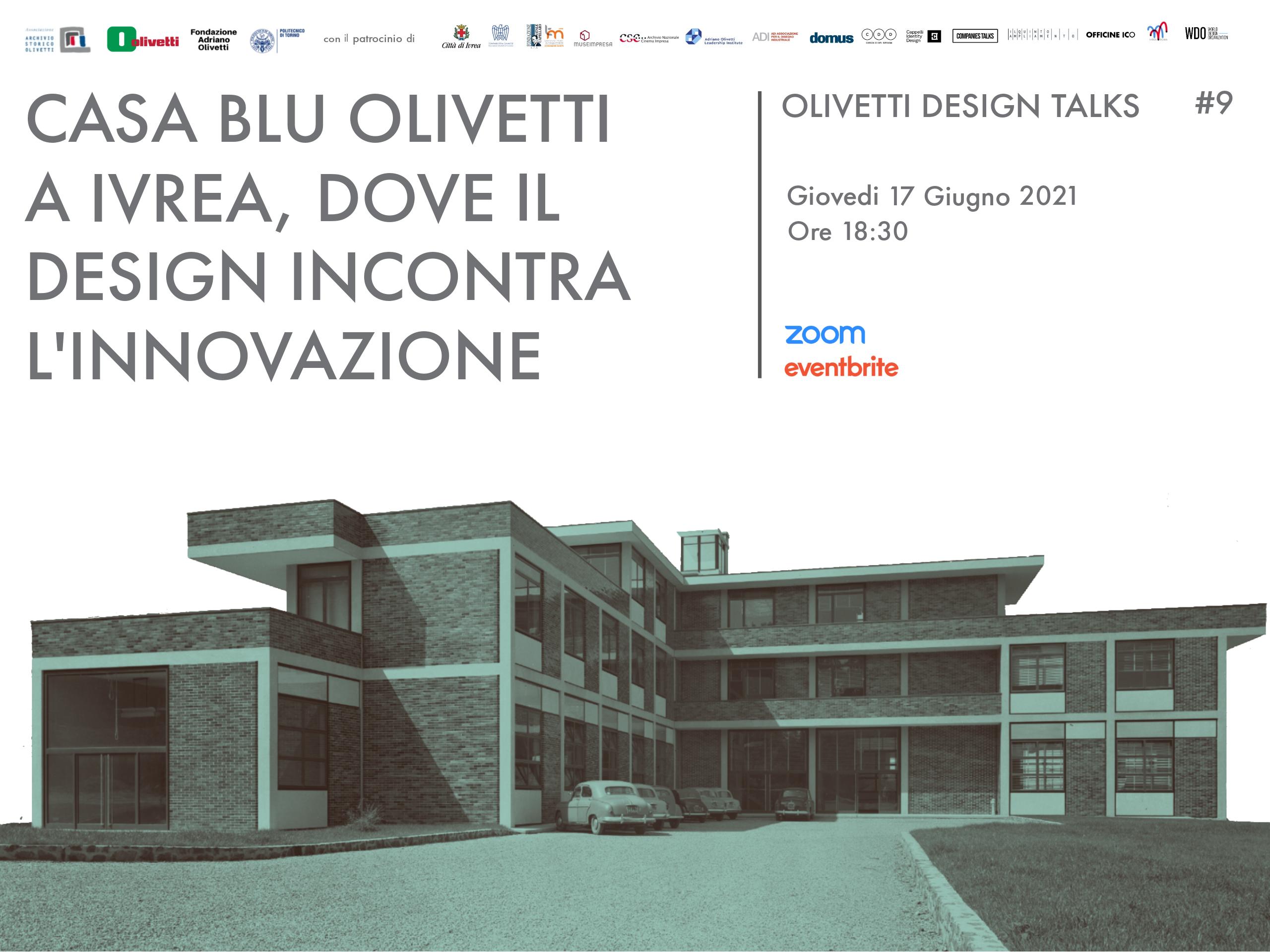 Casa Blu Olivetti a Ivrea, dove il design incontra l'innovazione
