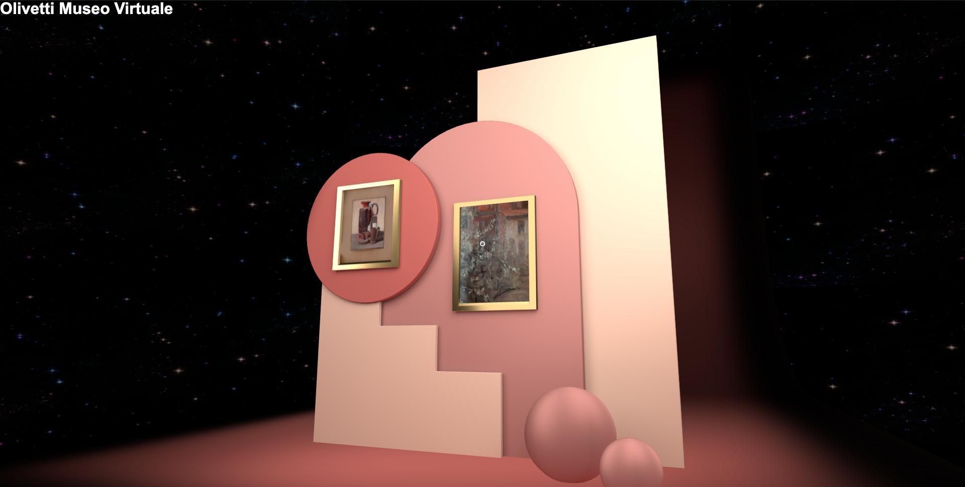 Collezione Olivetti - mostra virtuale 3D