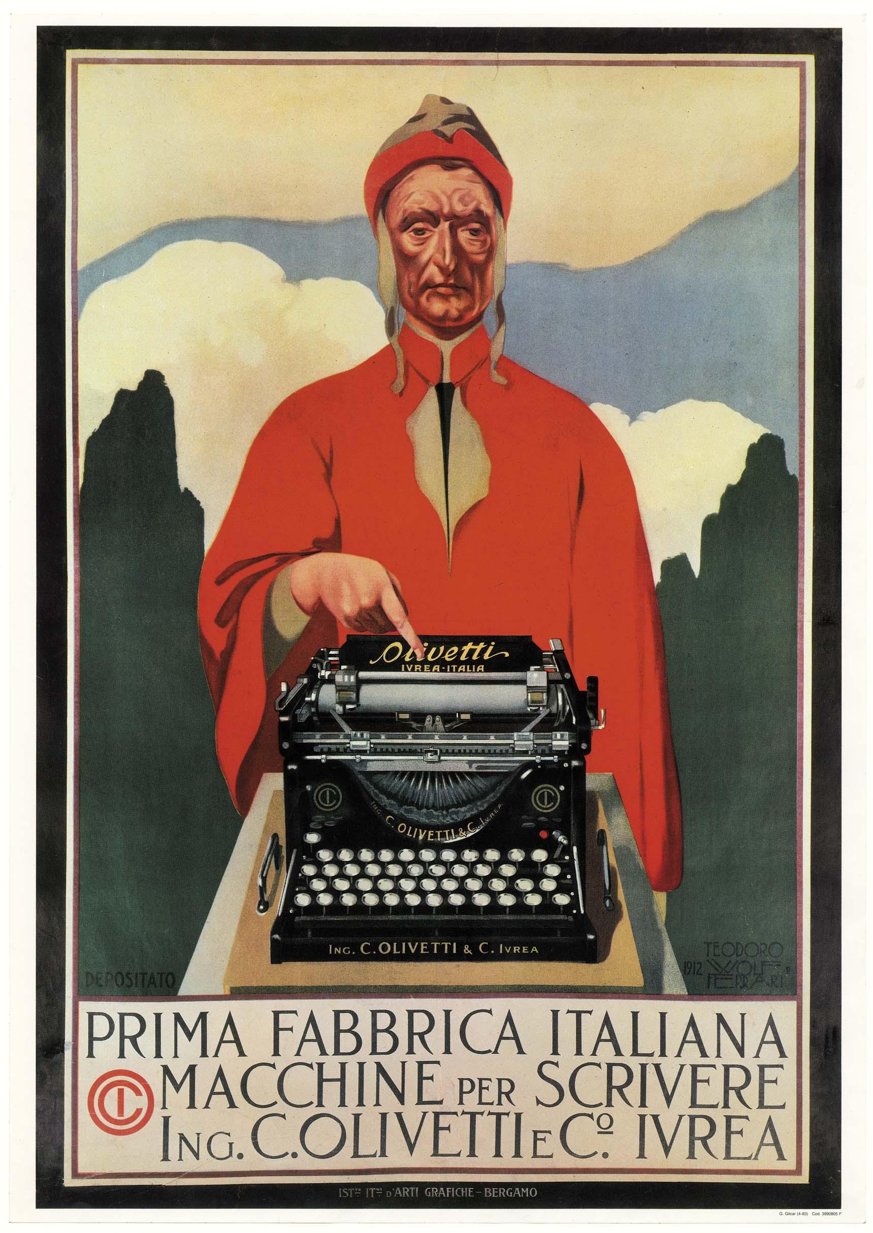 Prima Fabbrica Italiana macchine per scrivere