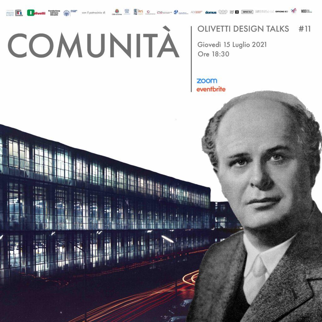 Olivetti design talks 15 luglio 2021