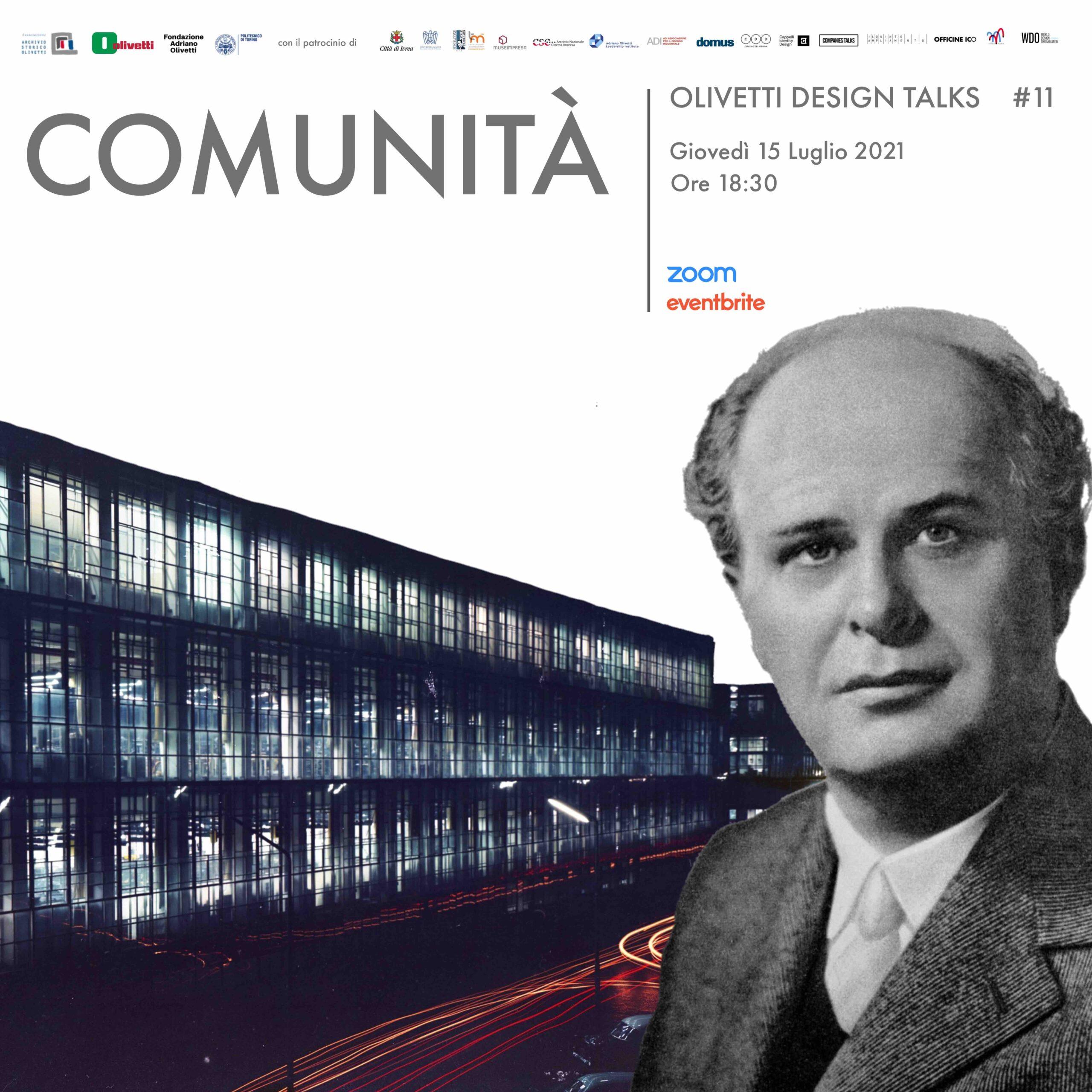 Olivetti Design Talks. Comunità