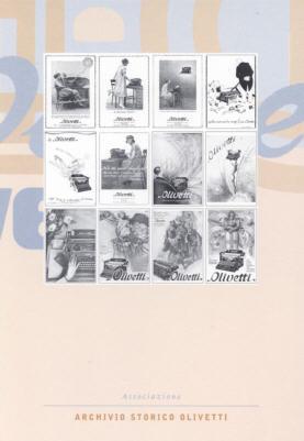 Pubblicità per la macchina per scrivere Olivetti M 20 (1924-1941)