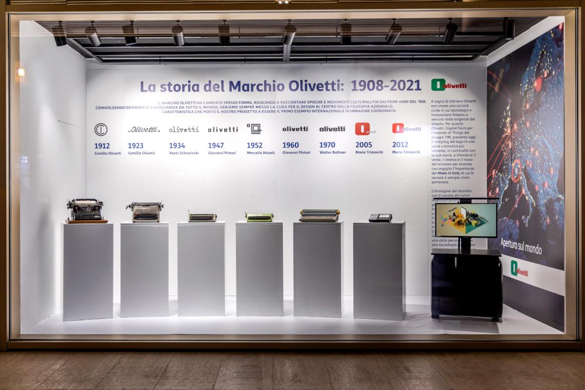 """""""Olivetti #StoriaDiInnovazione"""" a Rinascente Torino"""