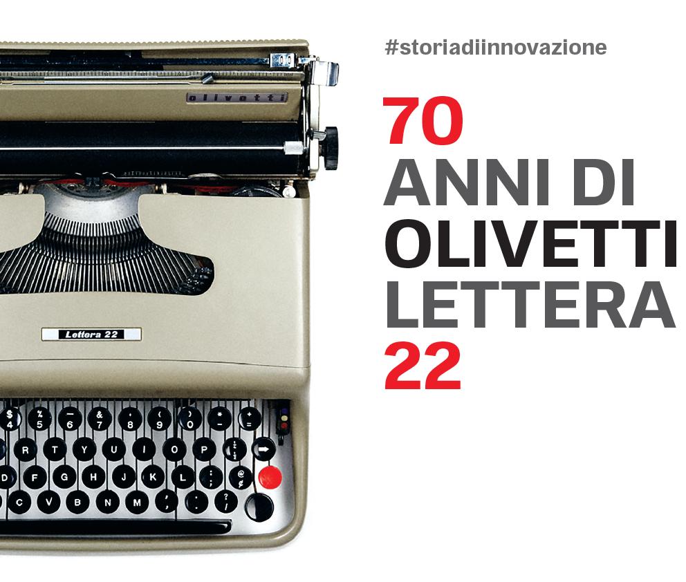 70 anni di Olivetti Lettera 22
