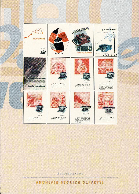 Pubblicità Olivetti dal 1924 al 1941